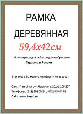 Рама СП213 формат А2
