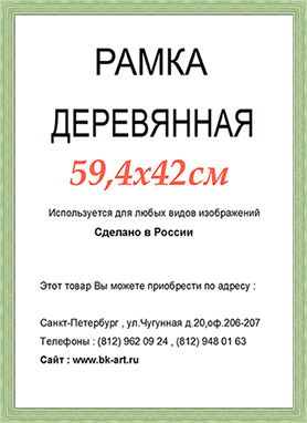 Рама СП218 формат А2