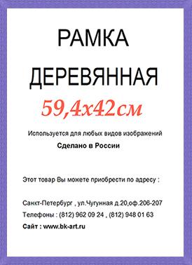 Рама СП24 формат А2