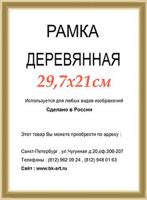 Рама СП42 формат А4