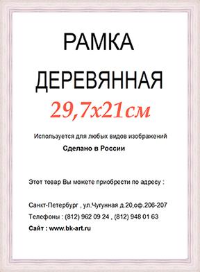 Рама СП422 формат А4