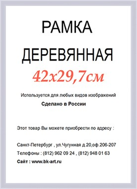 Рама СП36 формат А3