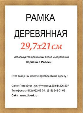 Рама СП45 формат А4
