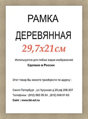 Рама СП411 формат А4
