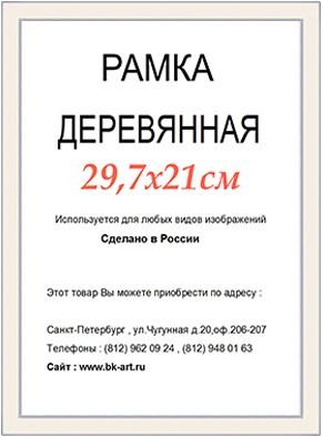 Рама СП416 формат А4