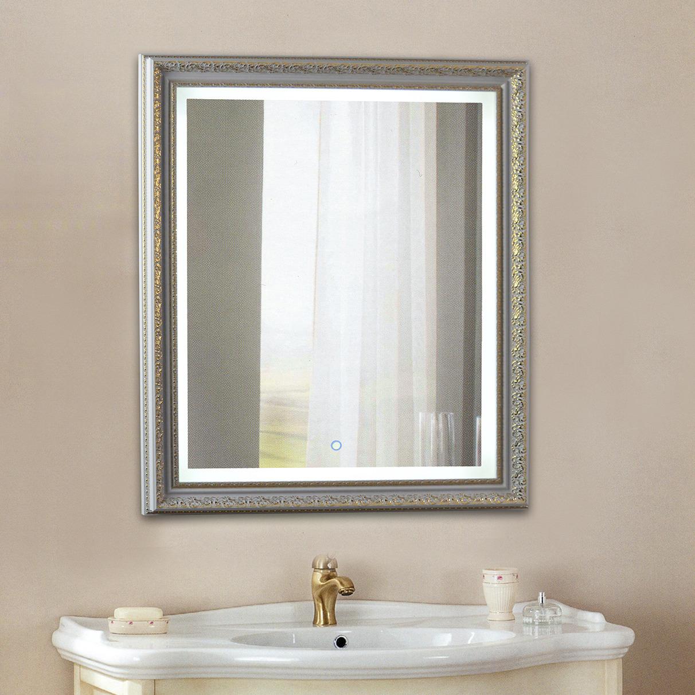 купить зеркало с полкой в ванную