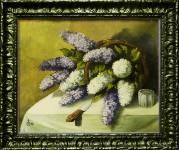 Картина в багетной раме